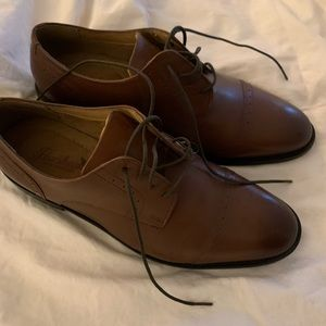 Florisheim brown dress shoe.